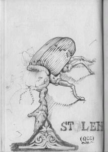 Beetle from Sketchbook